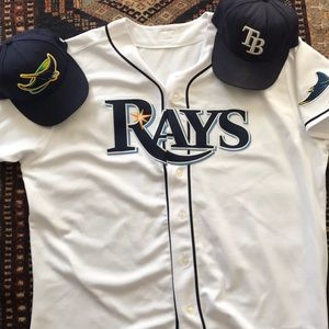 Tampa Bay Rays Official Home Jersey